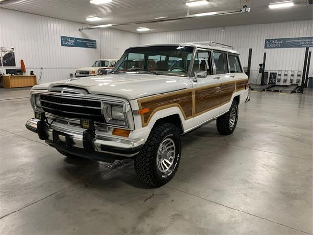 1989 Jeep Grand Wagoneer (CC-1327468) for sale in Holland , Michigan