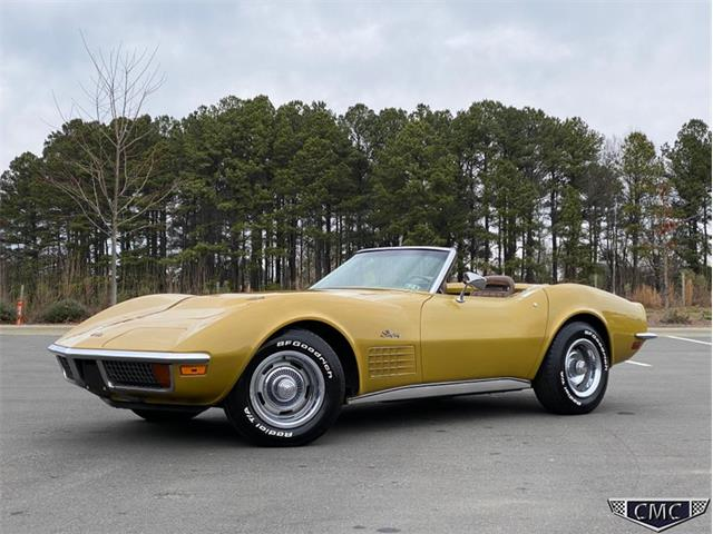 1971 Chevrolet Corvette (CC-1327917) for sale in Apex, North Carolina