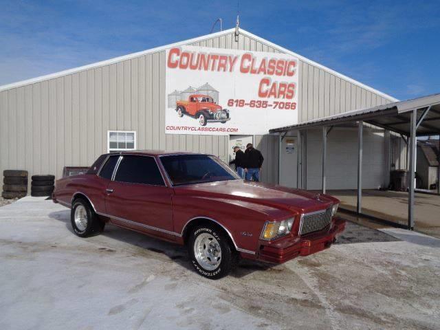1979 Chevrolet Monte Carlo (CC-1328041) for sale in Staunton, Illinois
