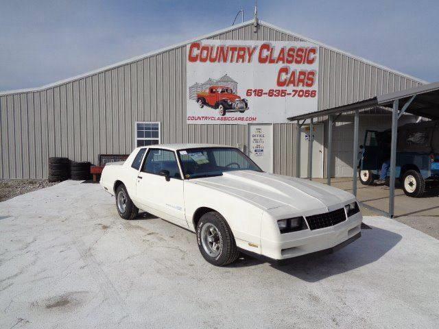 1984 Chevrolet Monte Carlo (CC-1328045) for sale in Staunton, Illinois