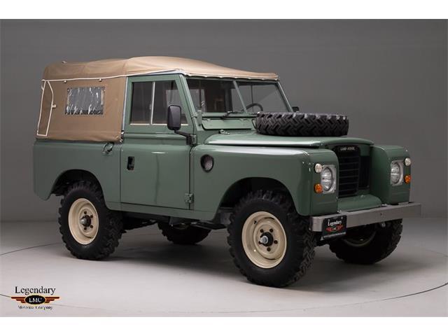 1973 Land Rover Series III (CC-1328090) for sale in Halton Hills, Ontario
