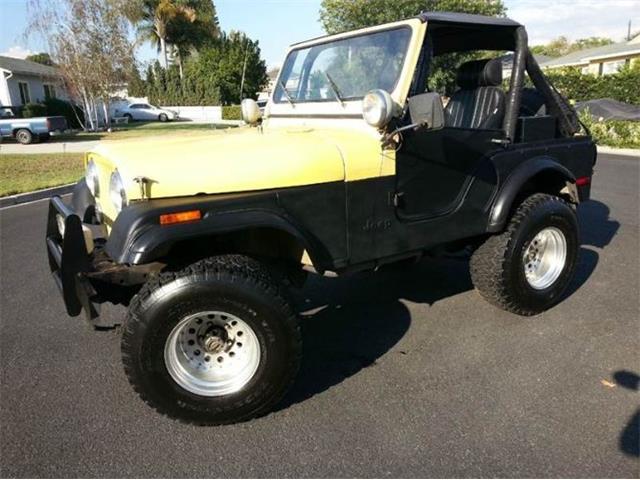 1977 Jeep CJ5 (CC-1328271) for sale in Cadillac, Michigan