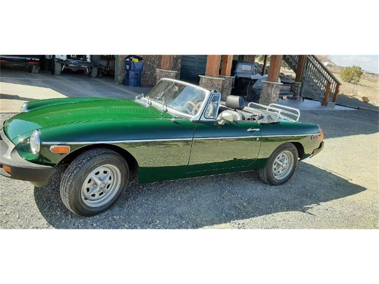 1977 MG MGB (CC-1328274) for sale in Cadillac, Michigan