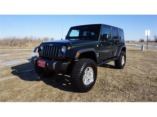2010 Jeep Wrangler (CC-1328307) for sale in Clarence, Iowa