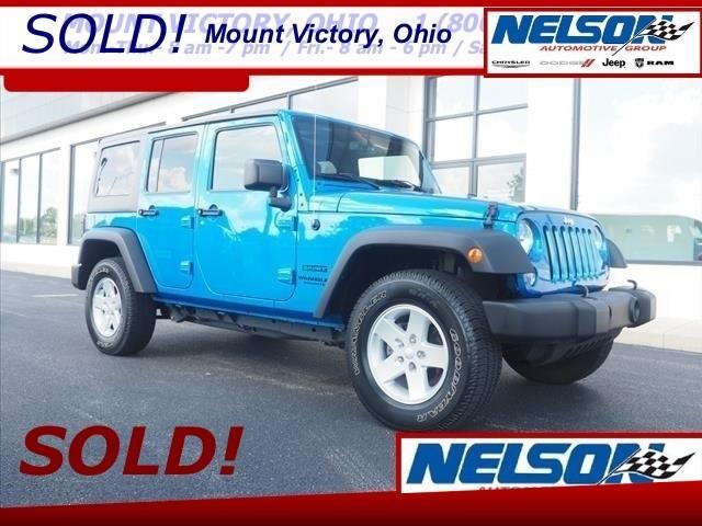 2015 Jeep Wrangler (CC-1328316) for sale in Marysville, Ohio