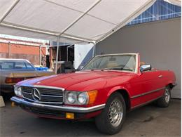 1985 Mercedes-Benz 380SL (CC-1328319) for sale in Los Angeles, California