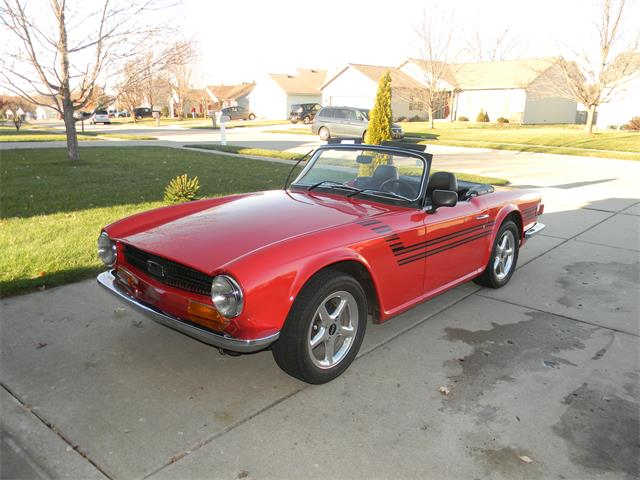 1971 Triumph TR6 (CC-1320857) for sale in West Lafayette, Indiana