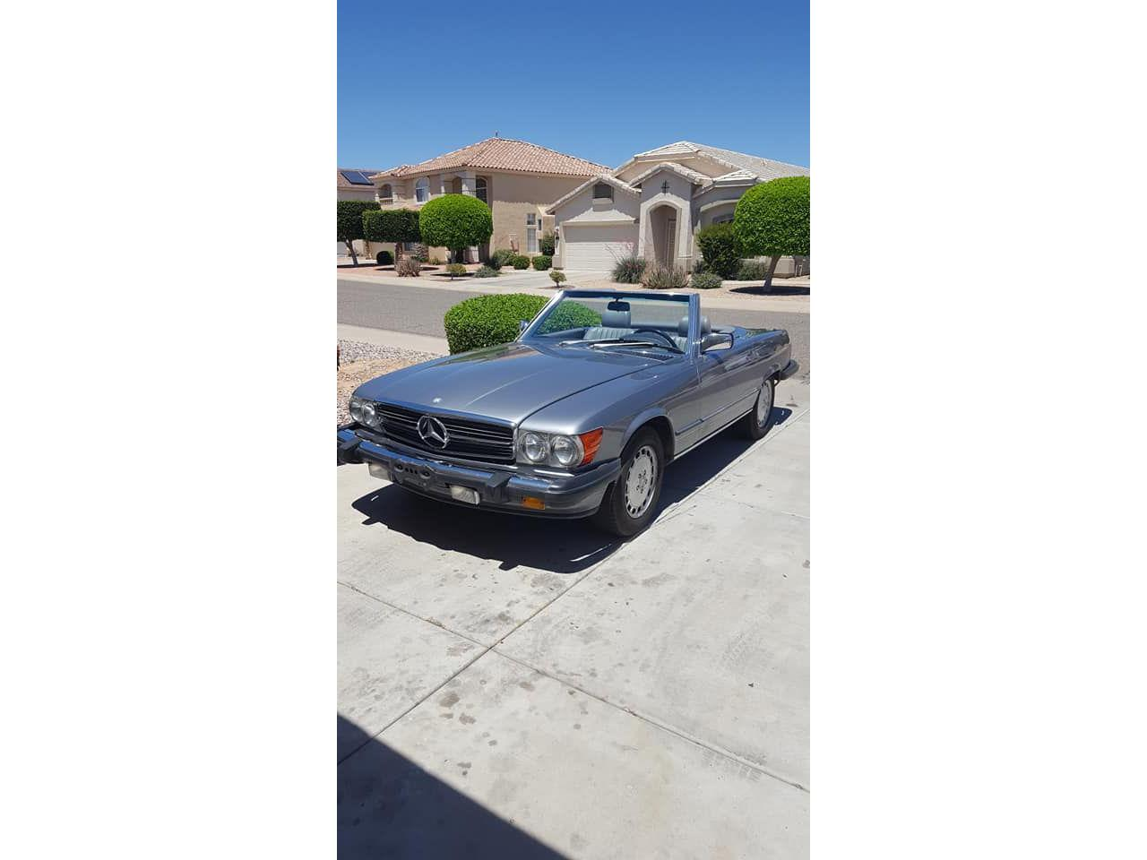 1987 Mercedes-Benz 560SL (CC-1328856) for sale in West Pittston, Pennsylvania