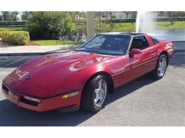 1989 Chevrolet Corvette (CC-1328879) for sale in Cadillac, Michigan
