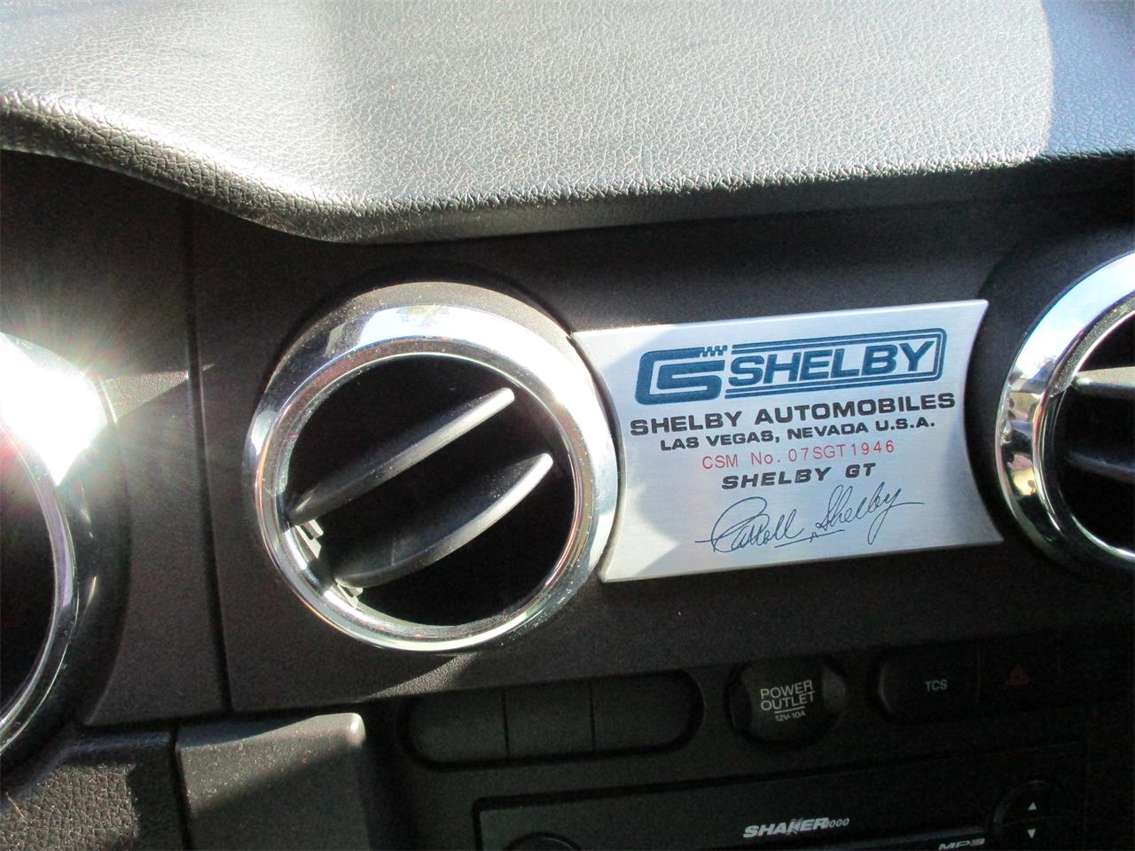2007 Shelby GT (CC-1328996) for sale in Colmesneil, Texas
