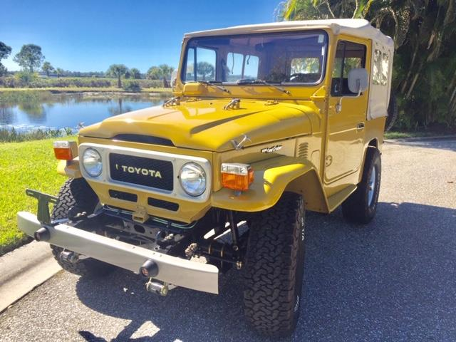 1982 Toyota Land Cruiser FJ40 (CC-1320914) for sale in Port Charlotte, Florida
