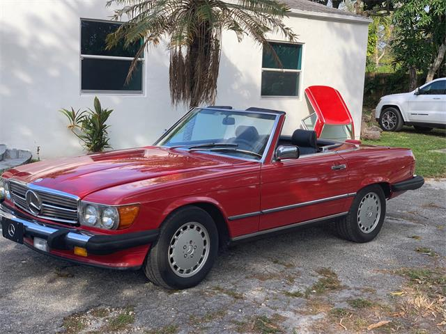 1989 Mercedes-Benz 560SL (CC-1320924) for sale in MIAMI, Florida