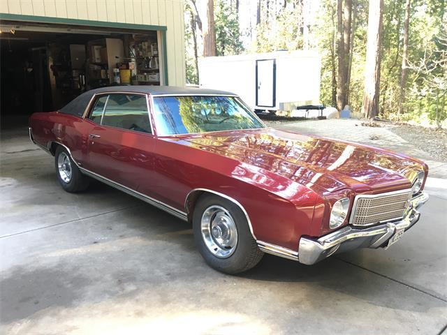 1971 Chevrolet Monte Carlo (CC-1320942) for sale in nevada vity, California