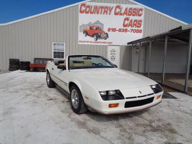 1987 Chevrolet Camaro (CC-1329484) for sale in Staunton, Illinois