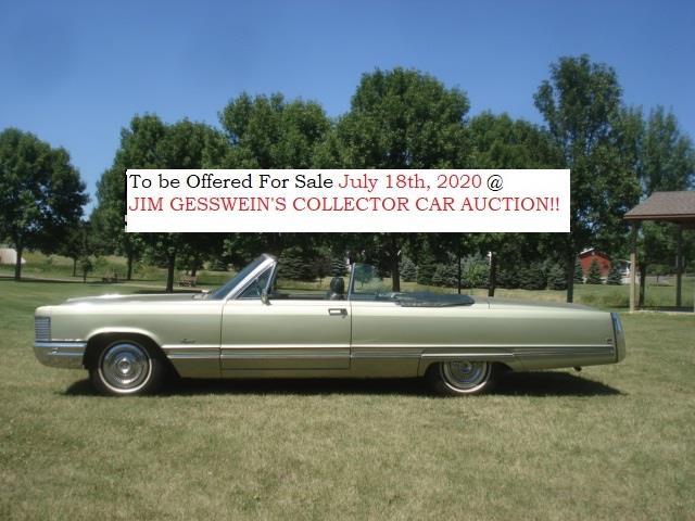 1968 Chrysler Imperial (CC-1329671) for sale in Milbank, South Dakota