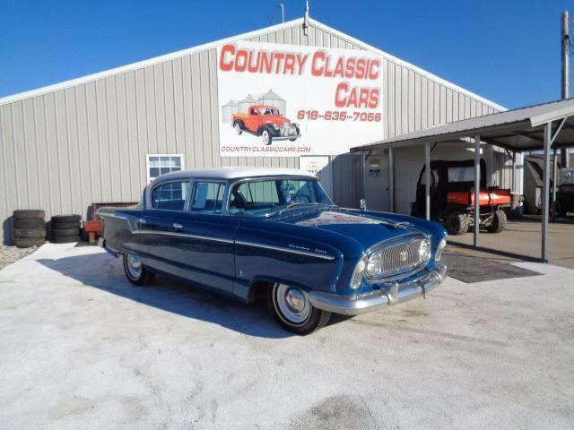 1956 Nash Statesman (CC-1331020) for sale in Staunton, Illinois