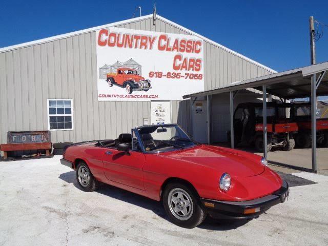 1986 Alfa Romeo Spider (CC-1331022) for sale in Staunton, Illinois