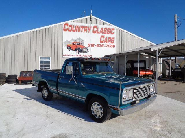 1978 Dodge D150 (CC-1331024) for sale in Staunton, Illinois
