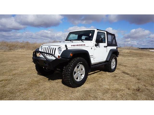 2012 Jeep Wrangler (CC-1331079) for sale in Clarence, Iowa