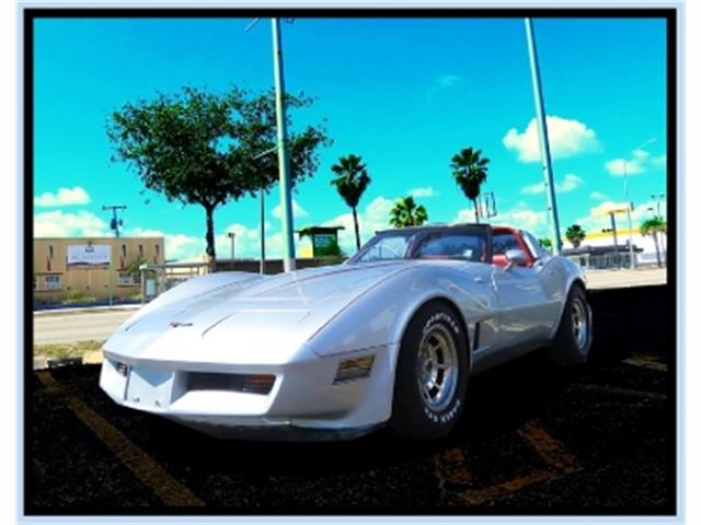 1981 Chevrolet Corvette (CC-1330114) for sale in Miami, Florida