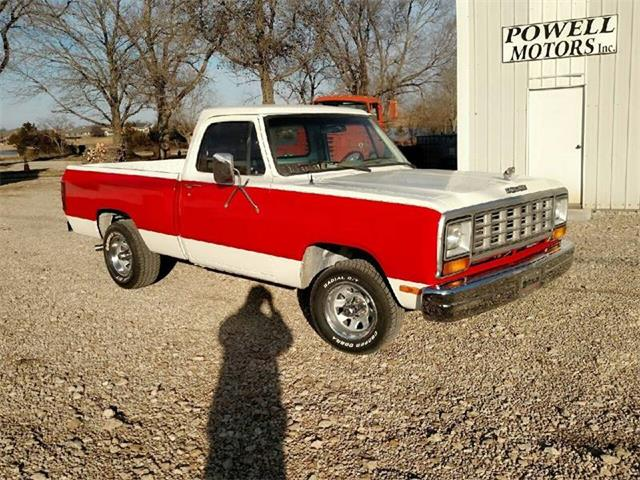1987 Dodge D150 (CC-1331195) for sale in Burlington, Kansas