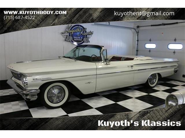 1960 Pontiac Bonneville (CC-1331222) for sale in Stratford, Wisconsin