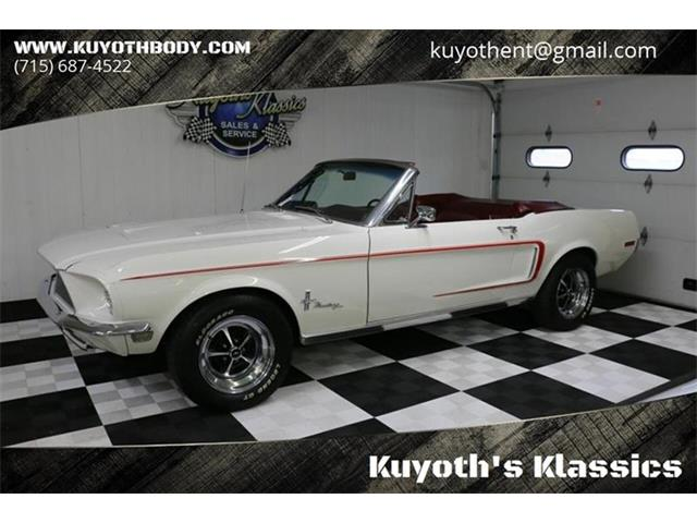 1968 Ford Mustang (CC-1331233) for sale in Stratford, Wisconsin