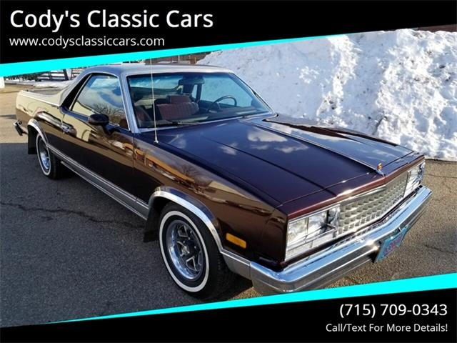 1985 Chevrolet El Camino (CC-1331379) for sale in Stanley, Wisconsin
