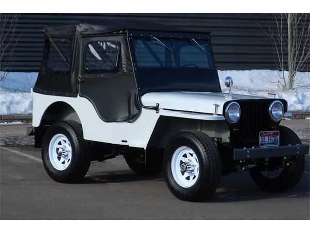 1946 Willys-Overland CJ2A (CC-1331460) for sale in Hailey, Idaho