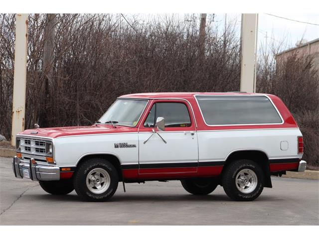 1986 Dodge Ramcharger (CC-1331532) for sale in Alsip, Illinois