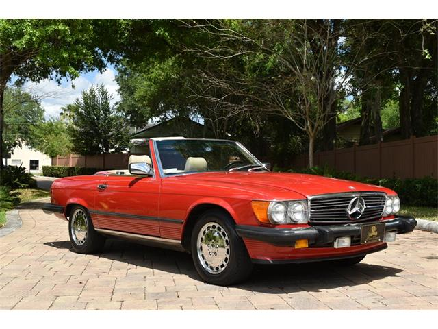 1988 Mercedes-Benz 560 (CC-1331559) for sale in Lakeland, Florida