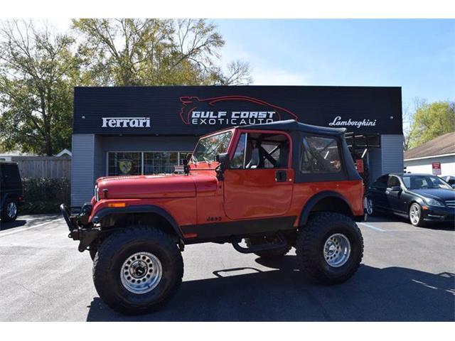 1986 Jeep CJ7 (CC-1331571) for sale in Biloxi, Mississippi