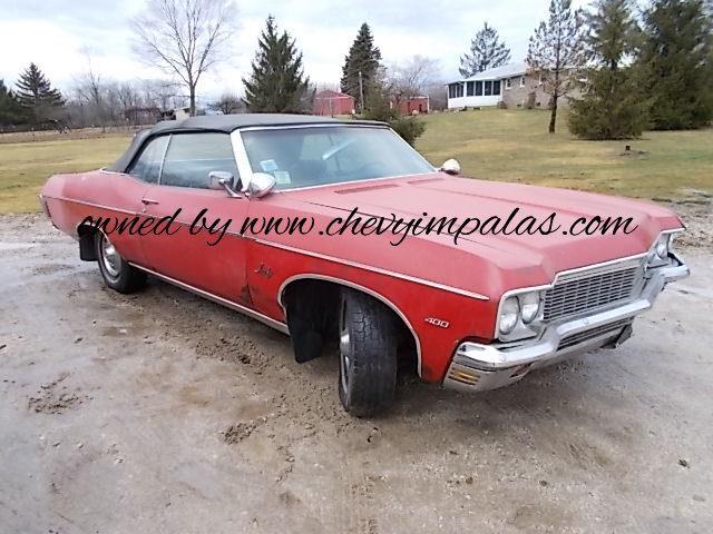 1970 Chevrolet Impala (CC-1331650) for sale in Creston, Ohio