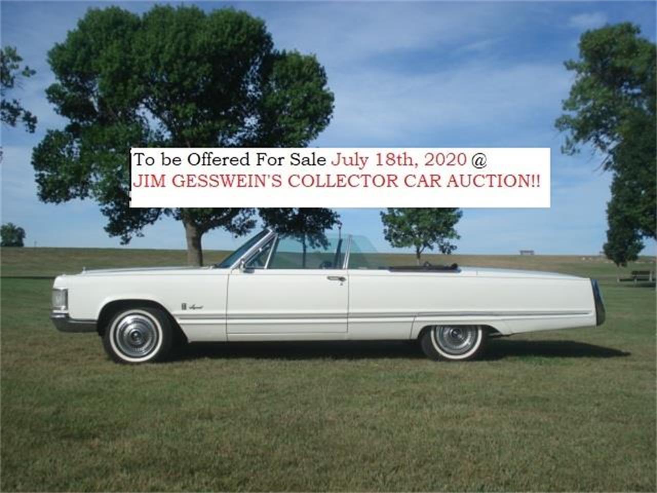 1967 Chrysler Imperial Crown (CC-1330185) for sale in Milbank, South Dakota