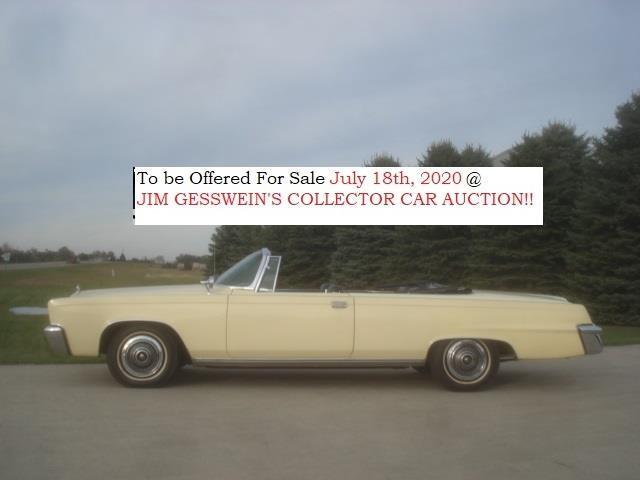 1966 Chrysler Imperial (CC-1330188) for sale in Milbank, South Dakota