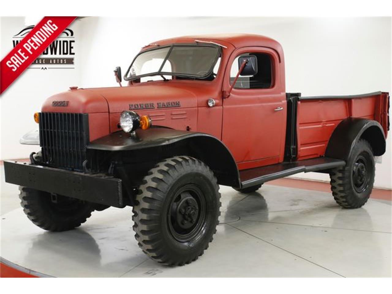 1952 Dodge Power Wagon For Sale Classiccars Com Cc 1331884