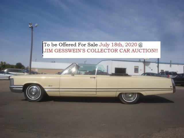 1968 Chrysler Imperial (CC-1330195) for sale in Milbank, South Dakota