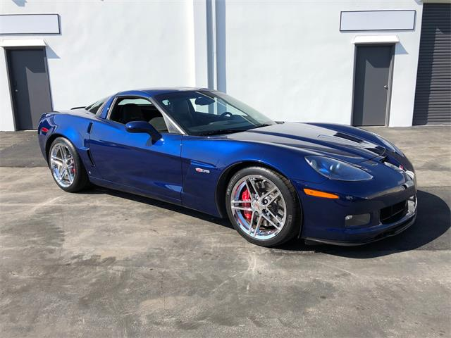 2007 Chevrolet Corvette Z06 (CC-1330203) for sale in orange, California