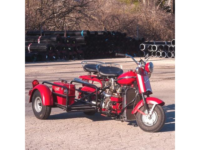 1955 Cushman Motorcycle (CC-1332134) for sale in St. Louis, Missouri