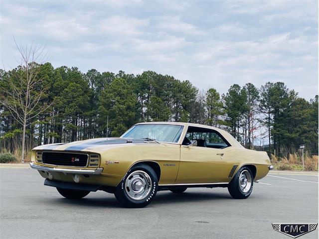 1969 Chevrolet Camaro (CC-1332272) for sale in Apex, North Carolina