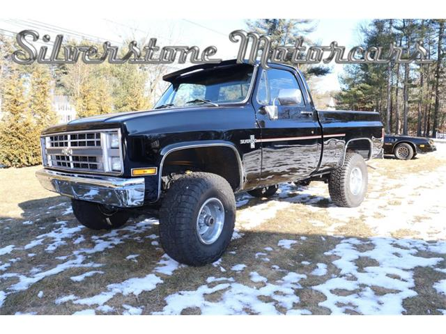 1986 Chevrolet C/K 10 (CC-1332401) for sale in North Andover, Massachusetts
