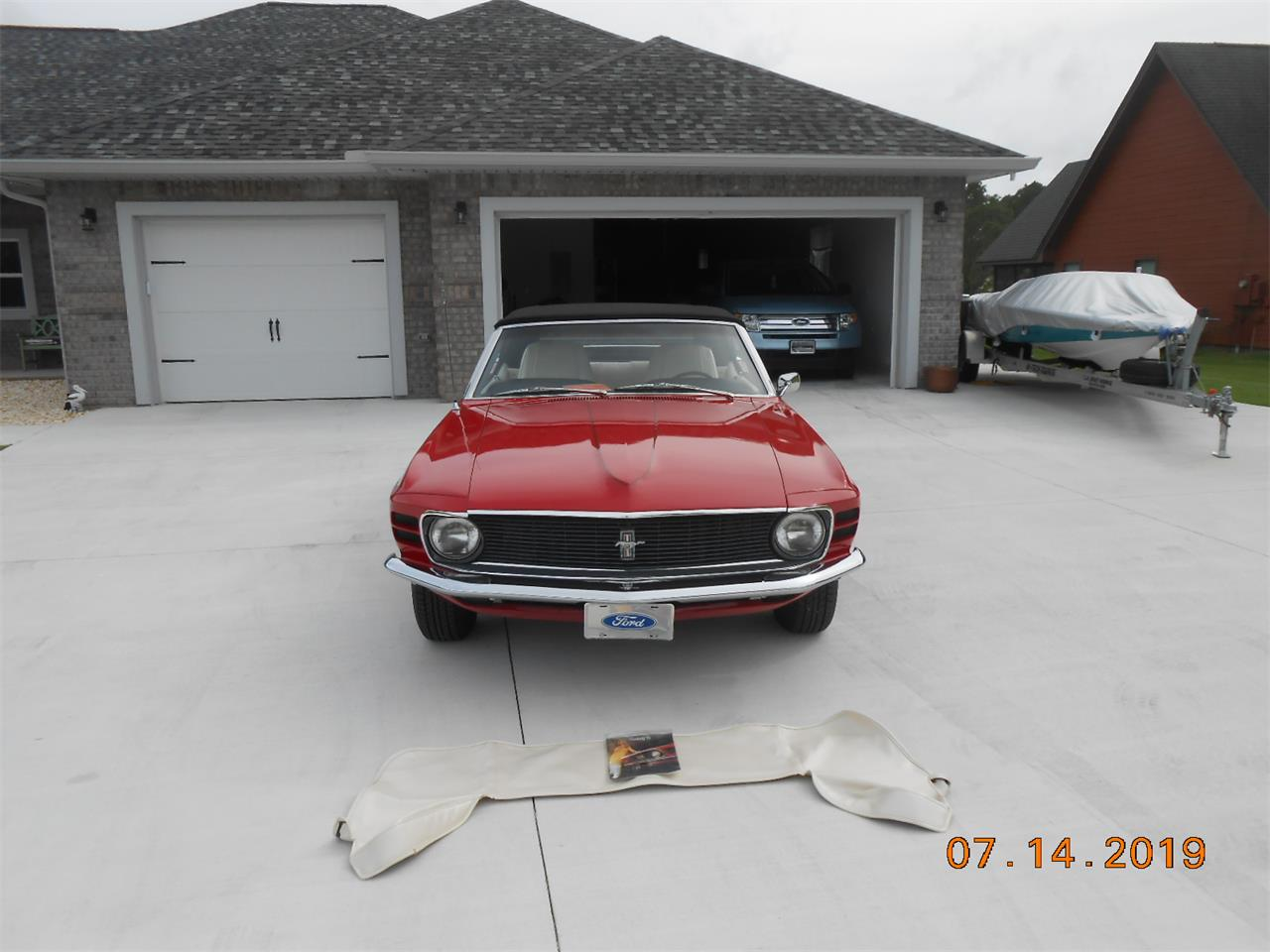 1970 Ford Mustang (CC-1332533) for sale in Racine, Ohio