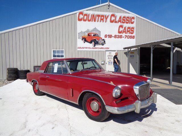 1962 Studebaker Gran Turismo (CC-1332762) for sale in Staunton, Illinois