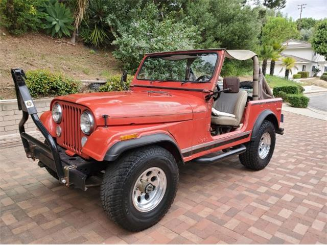1978 Jeep CJ (CC-1332783) for sale in Cadillac, Michigan