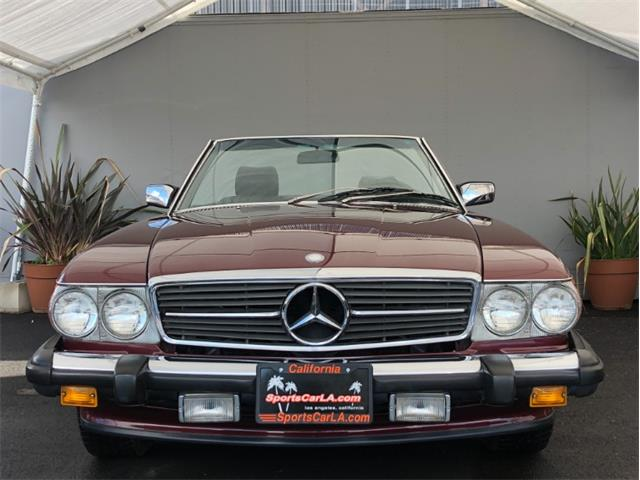 1987 Mercedes-Benz 560 (CC-1332827) for sale in Los Angeles, California