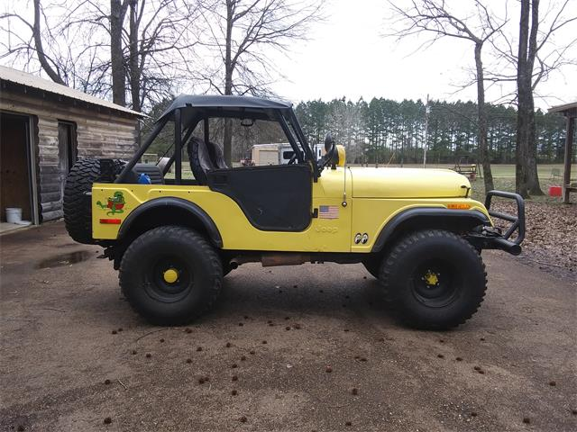 1972 Jeep CJ5 (CC-1332871) for sale in Como, Mississippi
