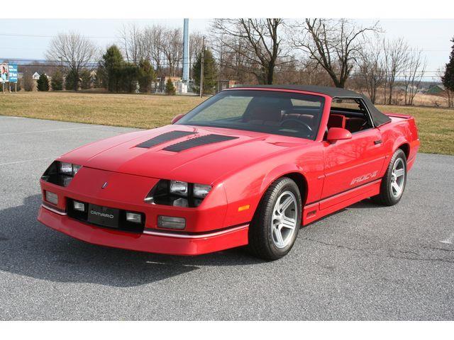 1989 Chevrolet Camaro IROC-Z (CC-1332919) for sale in Carlisle, Pennsylvania