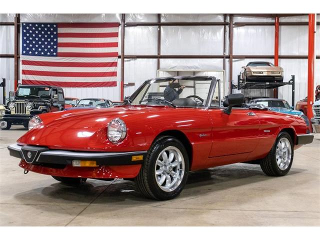 1986 Alfa Romeo Spider (CC-1332941) for sale in Kentwood, Michigan