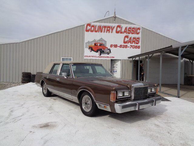 1989 Lincoln Town Car (CC-1332982) for sale in Staunton, Illinois
