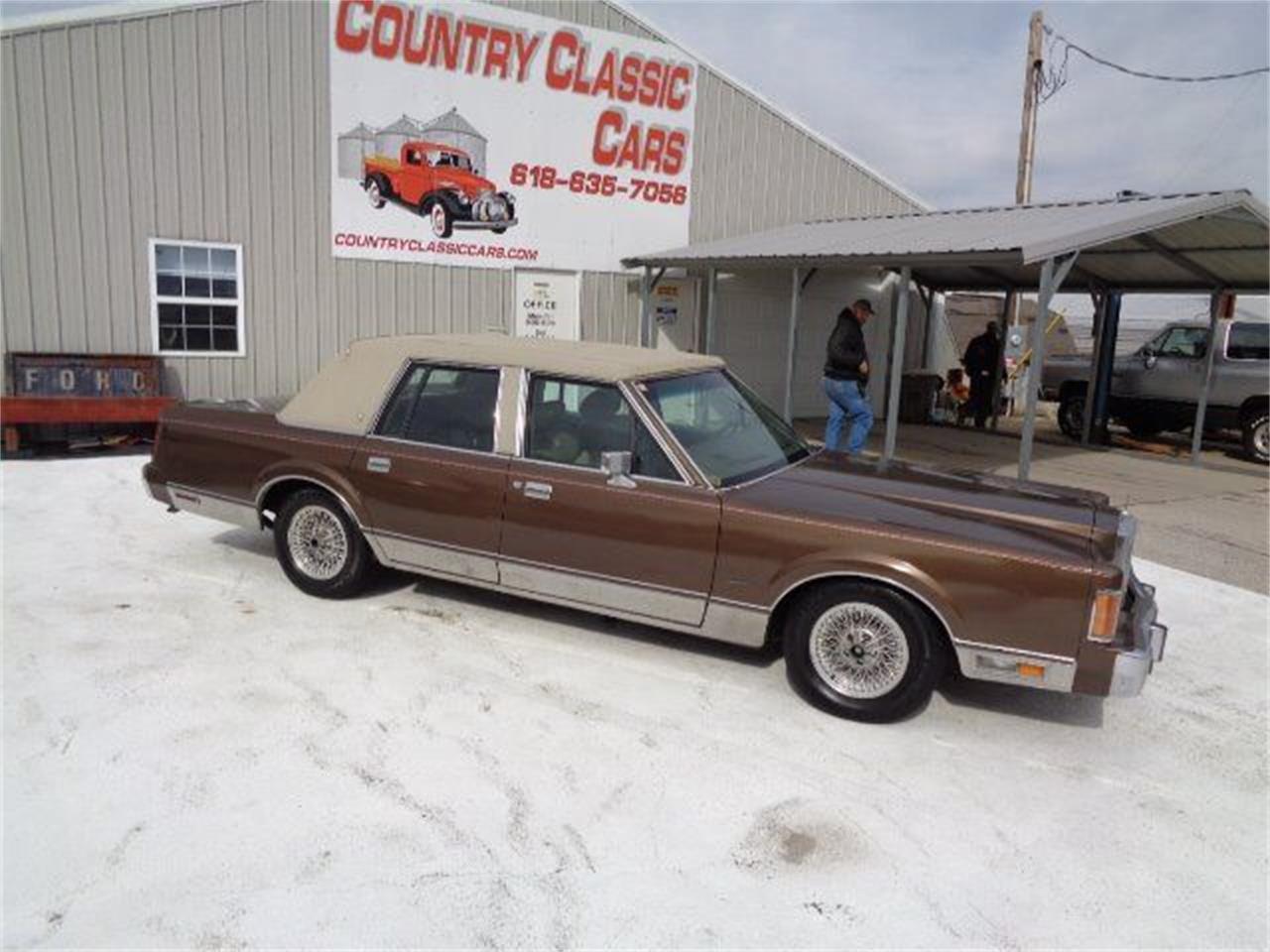 1989 Lincoln Town Car (CC-1332982) for sale in Staunton, Illinois